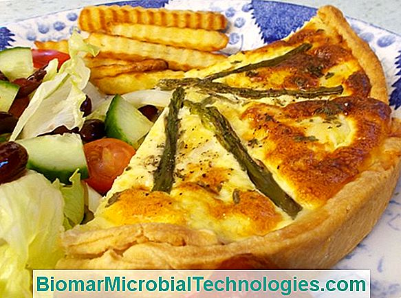 Asparagus Quiche, Chaource I Haddock