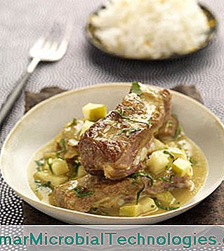 Agnello al curry con latte di cocco