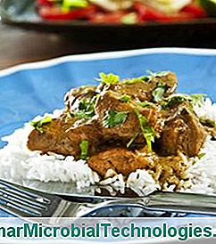 Lamb Curry, Koriander En Kokosmelk